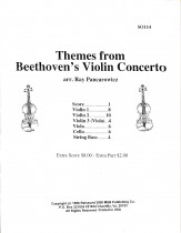 Themes From Beethoven's Violin Concerto
