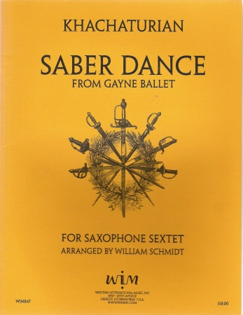 Sabre Dance From Gayne Ballet
