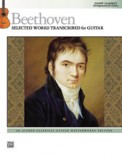 Beethoven Selected Works Transcribed For