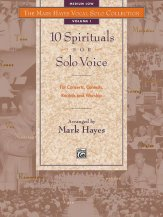 10 SPIRITUALS FOR SOLO VOICE VOL 1