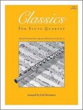 Various - Classics For Flute Quartet - 2nd Flute