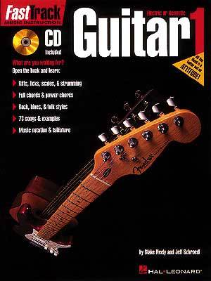 Fast track guitar 1 bk cd sheet music by neely schroedl for Fast house music