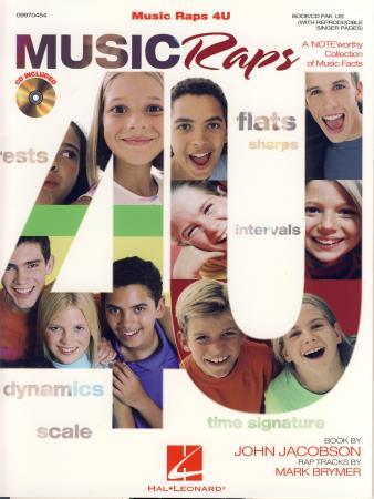 MUSIC RAPS 4U (BK/CD)