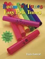 Boom ' N' Tunes Easy Folk Tunes (Bk/Cd)