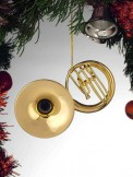 Ornament: Gold Sousaphone (Large)