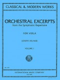 Orchestral Excerpts Vol 1