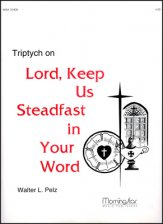 Triptych On Lord Keep Us Steadfast In Yo