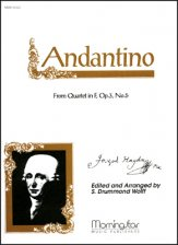 Andantino From Quartet In F Op 3 #5