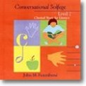 Conversational Solfege Lev 2 (Cd)