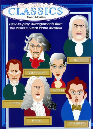 Easy classics piano masters sheet music by erika f macris for Piano house classics
