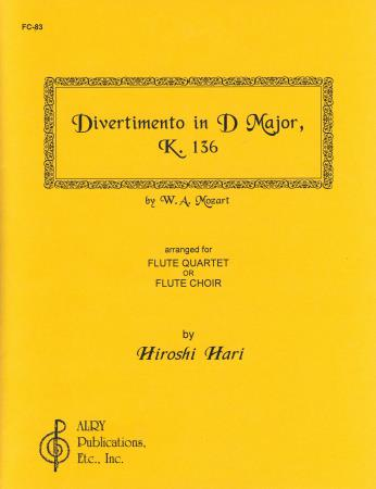 Divertimento In D Major K136