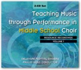 Teaching Music Through Perf/Mid Sch Choi
