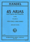 45 Arias From Operas and Oratorios Vol 2