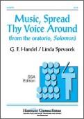 Music Spread Thy Voice Around