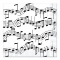 Napkins: Musical Note 16 Per Pkg (13x13)