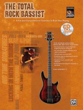 The Total Rock Bassist (Bk/Cd)