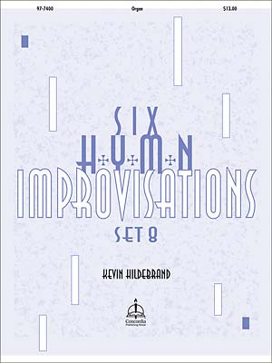 SIX HYMN IMPROVISATIONS SET 8