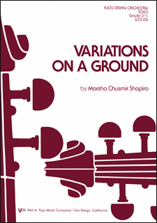 Variations On A Ground