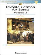 FAVORITE GERMAN ART SONGS VOL 2 (BK/CD)