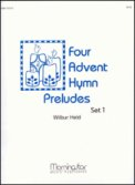 Four Advent Hymn Preludes Set 1