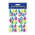 Stickers: Musical Notes Multi-Color