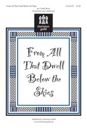 From All That Dwell Below The Skies