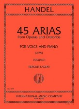 45 ARIAS FROM OPERAS AND ORAT VOL 1
