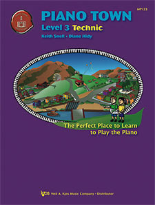 Piano Town Technic Lev 3