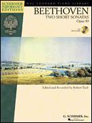 Two Short Sonatas Op 49 (Bk/Cd)