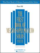 First Book of Mezzo-Soprano Solos III
