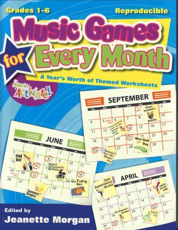 Music Games For Every Month