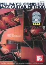 Complete Jazz Guitar Method +cd and Dvd