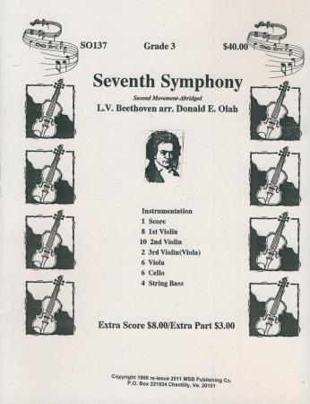 Seventh Symphony 2nd Mvt Abridged