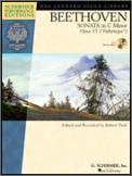 Sonata In C Minor Op 13 (Bk/Cd)