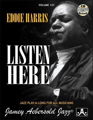 Eddie Harris Listen Here Vol 127 (Bk/Cd)