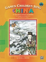 GAMES CHILDREN SING CHINA (BK/CD)