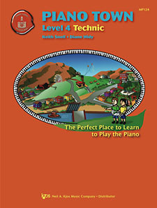 Piano Town Technic Lev 4