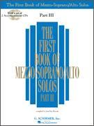 First Book of Mezzo Soprano Solos III