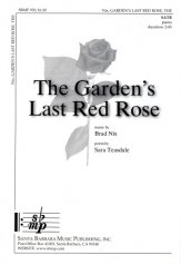 The Garden's Last Red Rose