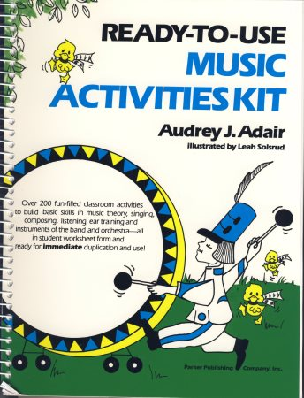 READY TO USE MUSIC ACTIVITIES KIT