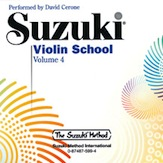Suzuki Violin 4 CD Cerone
