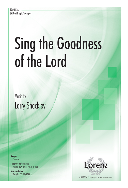 Sing the Goodness of the Lord