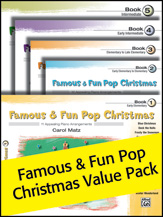 Famous & Fun Pop Christmas Value Pack