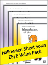 Halloween Sheet Solos Ee/E Value Pk 2012