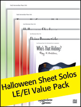 Halloween Sheet Solos Le/Ie Value Pk2012