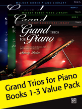 Grand Trios For Piano Bks 1-3
