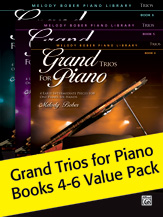 Grand Trios For Piano Value Pack Bks4-6