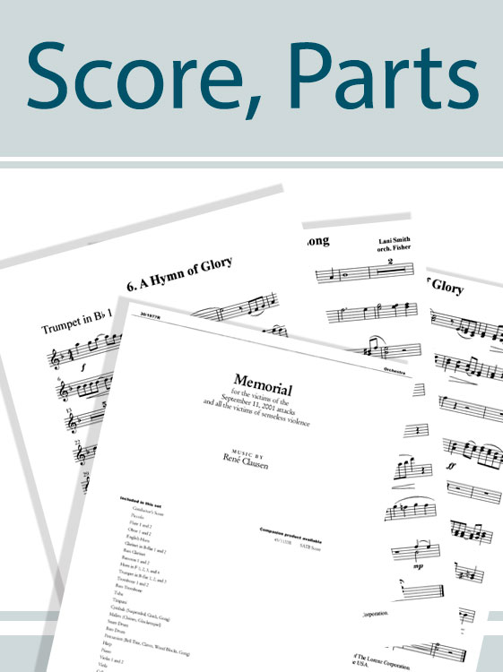 Fill the Earth with Praise - Orchestral Score and Parts