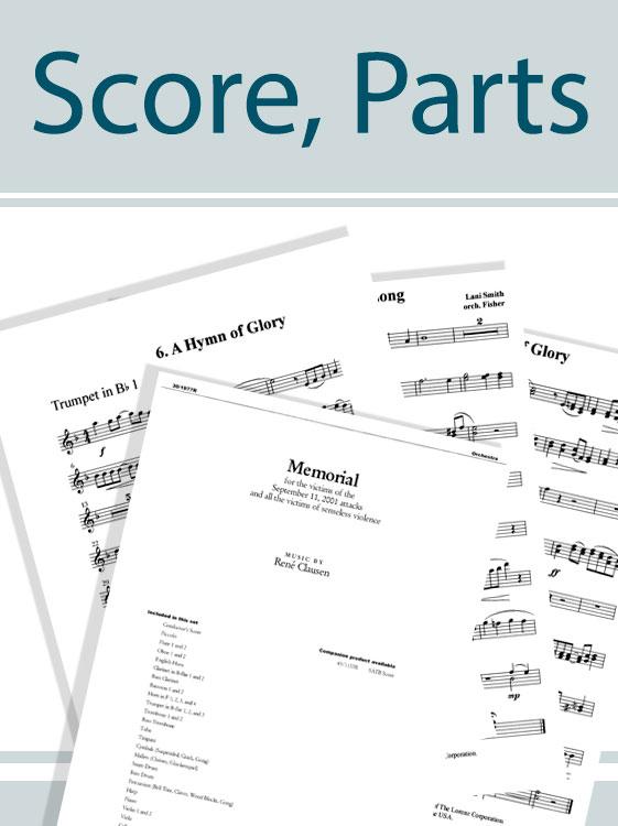 Good Christian Men, Rejoice - Orchestral Score and Parts