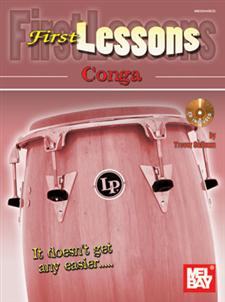 First Lessons-Conga (Bk/Cd)